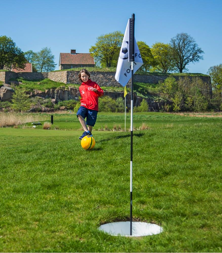 Fotballgolf - Aktivitetsbyen Gamle Fredrikstad