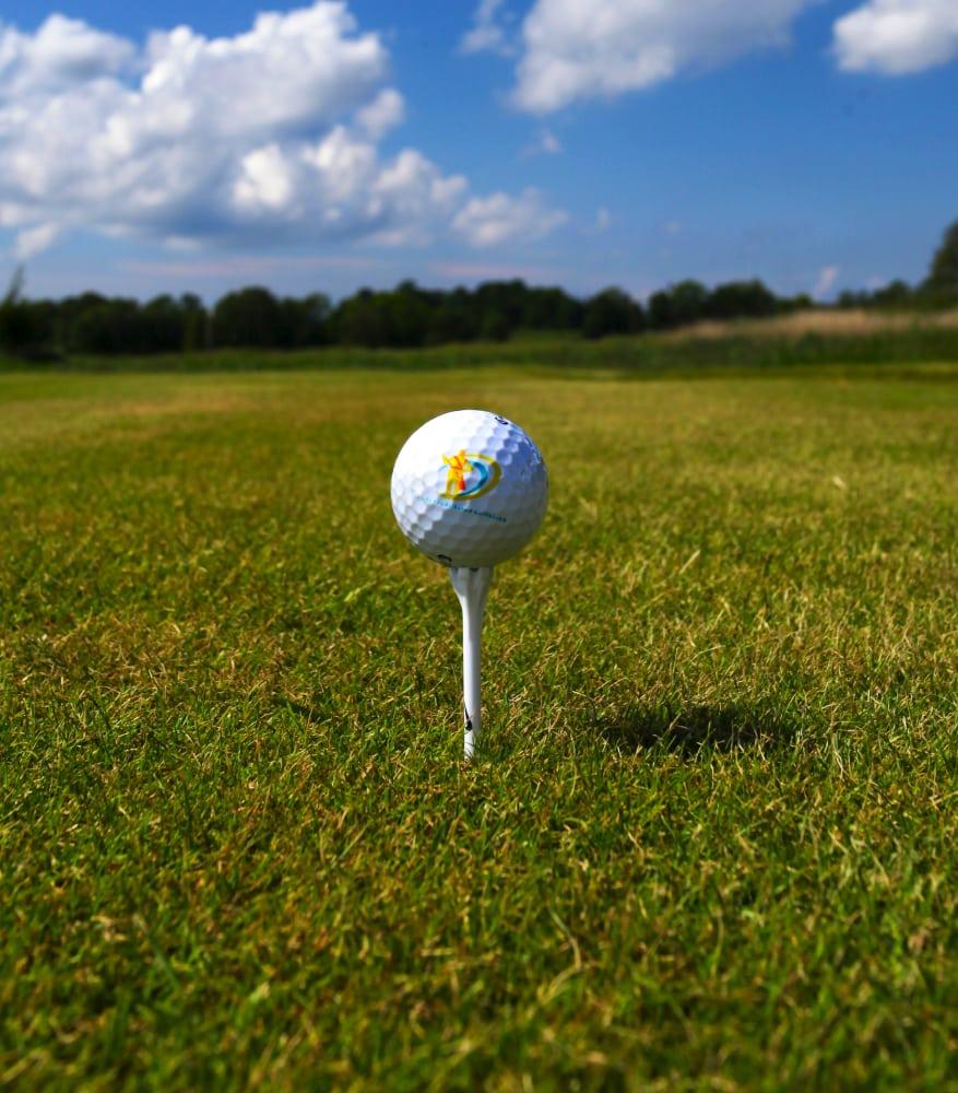Golfball ved 18-hull banen - Aktivitetsbyen Gamle Fredrikstad