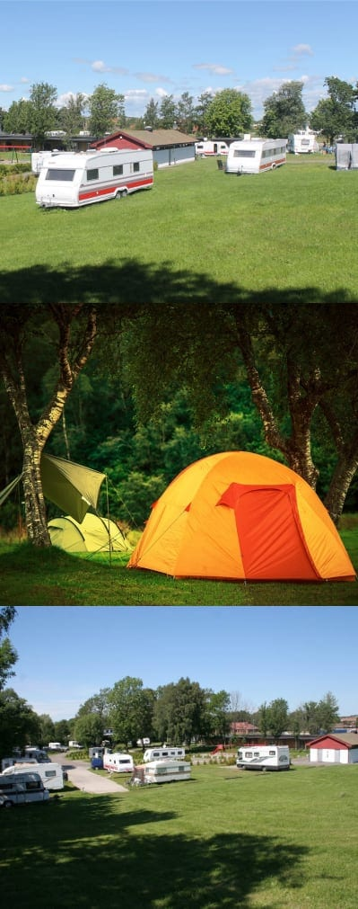Telt camping Aktivitetsbyen Gamle Fredrikstad